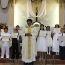 English - First Communion photo album